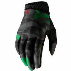 New 100% Ridefit Glove Black Camo S M L XL Motocross